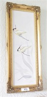Brannon - Oil on Canvas Cranes Artwork