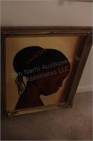 3 Brannon - Oil on Canvas African Woman Portrait