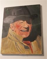 Brannon - John Wayne - Oil on Canvas