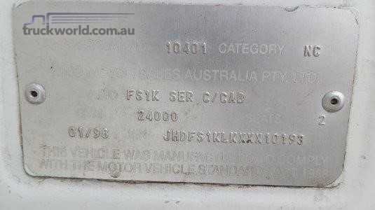 1998 Hino Ranger FS Truck Traders WA - Trucks for Sale