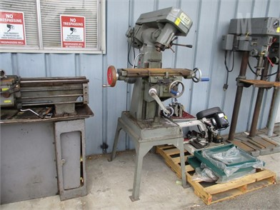Vertical Milling Machine 0B Other Auction Results - 1