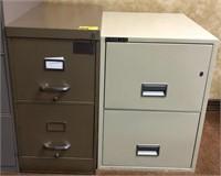Standard and legal, 2 drawer, Metal filing