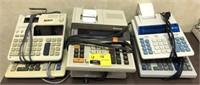 Electric calculators