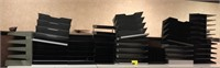 Large lot of paper organizers