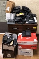 Large lot of dictaphone transcribers, some not