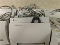 Large lot of printers