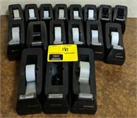 Large lot of tape dispensers