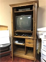 Armoire with contents