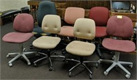 Large lot of office chairs