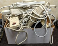 Large lot of surge protectors