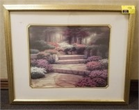 framed print measures approximately 31.75x24.5""