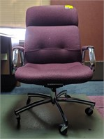 Office chair with mat