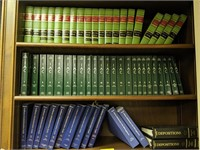 Large lot of law book's