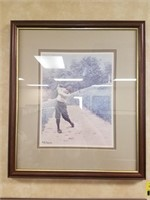 Framed A.B. Frost prints measures approximately