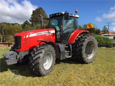 Used MASSEY-FERGUSON 100 HP To 174 HP Tractors For Sale - 582