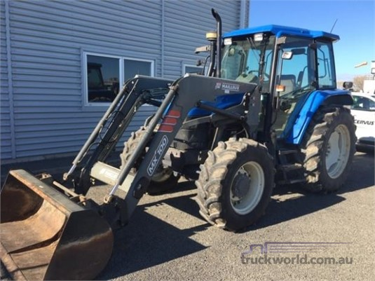 2003 New Holland TS90 - Heavy Machinery for Sale