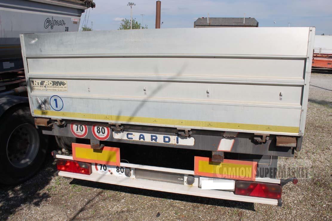 Cardi SEMIRIMORCHIO CASSONATO 9.50 M COILS USATO Uzywany 2005