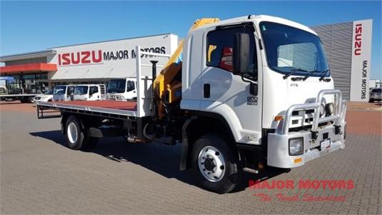 2013 Isuzu FTS 800 4x4 Major Motors - Trucks for Sale