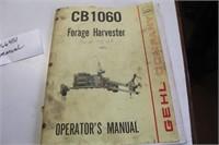 "Gehl 1060 Auto-Max Chopper, 1000PTO, 15"" Tires"