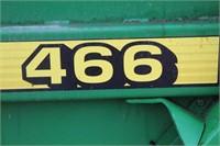 John Deere 466 Round Baler