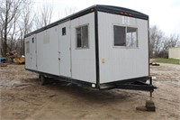 1996 Commercial Construction Job Trailer 6204