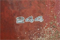 New Idea 244 8.5Ton Manure Spreader