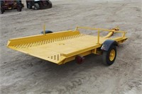 """Allis-Chalmers Utility Trailer, Approx 8ftx66"""""""