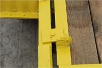 "Tilt Bed Skid Steer Farm Trailer, Approx 10ftx67"""