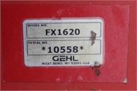 Gehl 1620 16ft Forage Box on H&S Running Gear