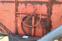 Gravity Box w/Auger on John Deere Running Gear