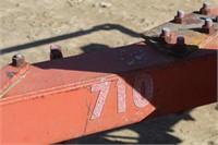 IH 710 5-16 Bottom Plow, Semi Mount, Auto Rest