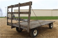 Hay Wagon, Approx 15ft x 8ft On Kory Running Gear,