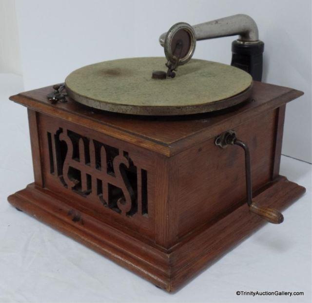 Antique Harmony Model 12 Victrola | Asset Marketing Pros ...