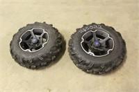 (2) ITP Mud Lite XTR 27x9.00R14 Take Off Tires