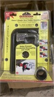 Dual Arm Trailer Guards and Wheel Lock System-