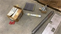 Assorted Conveyor Parts and Metal-