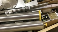 Assorted Filters, Metal, Connectors-