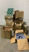 Assorted Filters, Hose, & Light Covers-