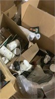 Assorted Lights and Electrical Supplies-