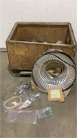 Reflectors and Assorted Electrical Components-