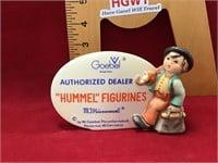 Hummel authorized dealer plaque