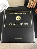 World of stamp collectors book