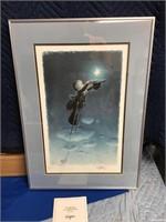 Ferrandiz lithograph my star