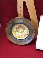 Anri wood plate