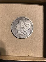 1879S Morgan silver dollar