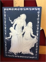 Mettlach villeroy and boch wall plaque