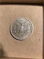 1880 P Morgan silver dollar