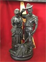 Angelus Prayer bronze