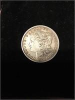1879  Morgan silver dollar