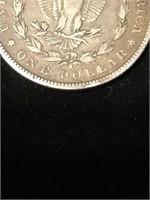 1891 Morgan Silver Dollar S
